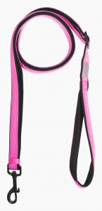 Solid leash 20mm col.630 pink