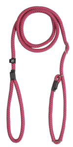 prozone round retriever leash 13mm col.660 raspberry