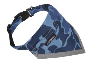 wonder scarf col.535 blue camo