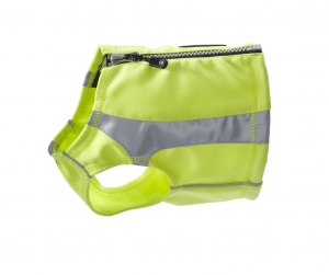 Hurtta_Lifeguard_Polar_Vest_yellow