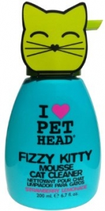 Frizzy kitty mousse