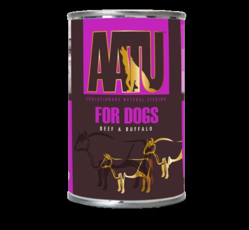 AATU_400g Cans_Beef & Buffalo