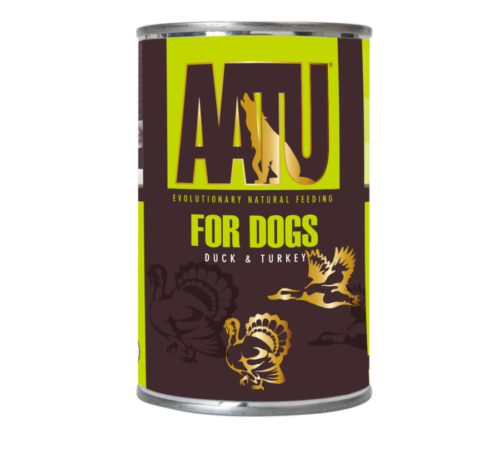 AATU_400g Cans_Duck & Turkey