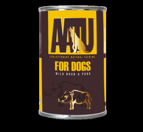 AATU_400g Cans_Wild Boar & Pork