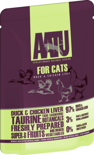 AATU_85g_Duck & Chicken Liver