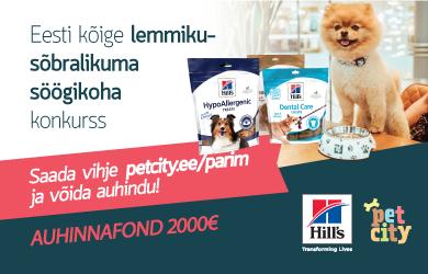 Eesti kõige lemmiklooma sõbralikuma söögikoha konkurss 2020